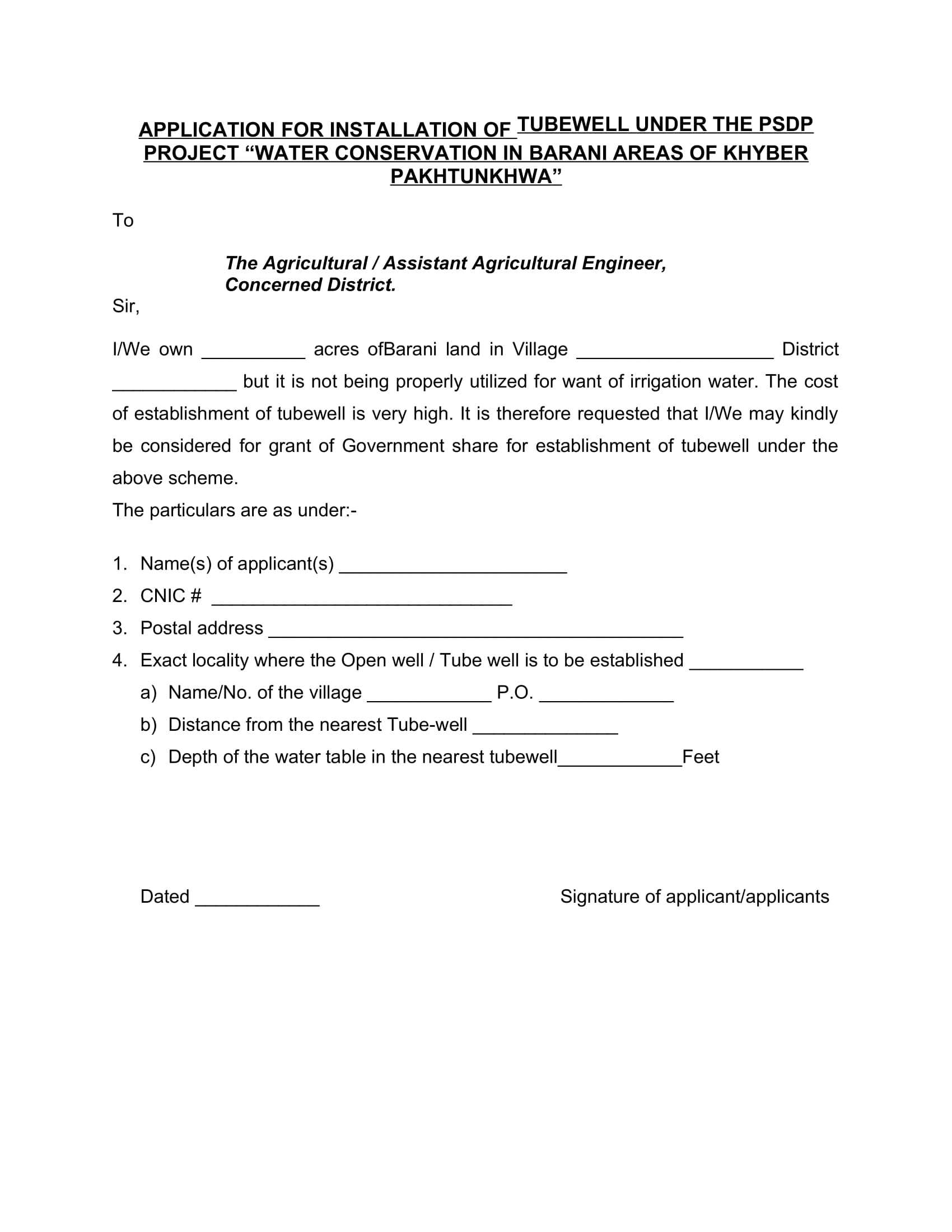 Application_Form_Tube_Well_PSDP_Project_(Water_Conservation_in_Barani_Areas_of_Khyber_Pakhtunkhwa)-1