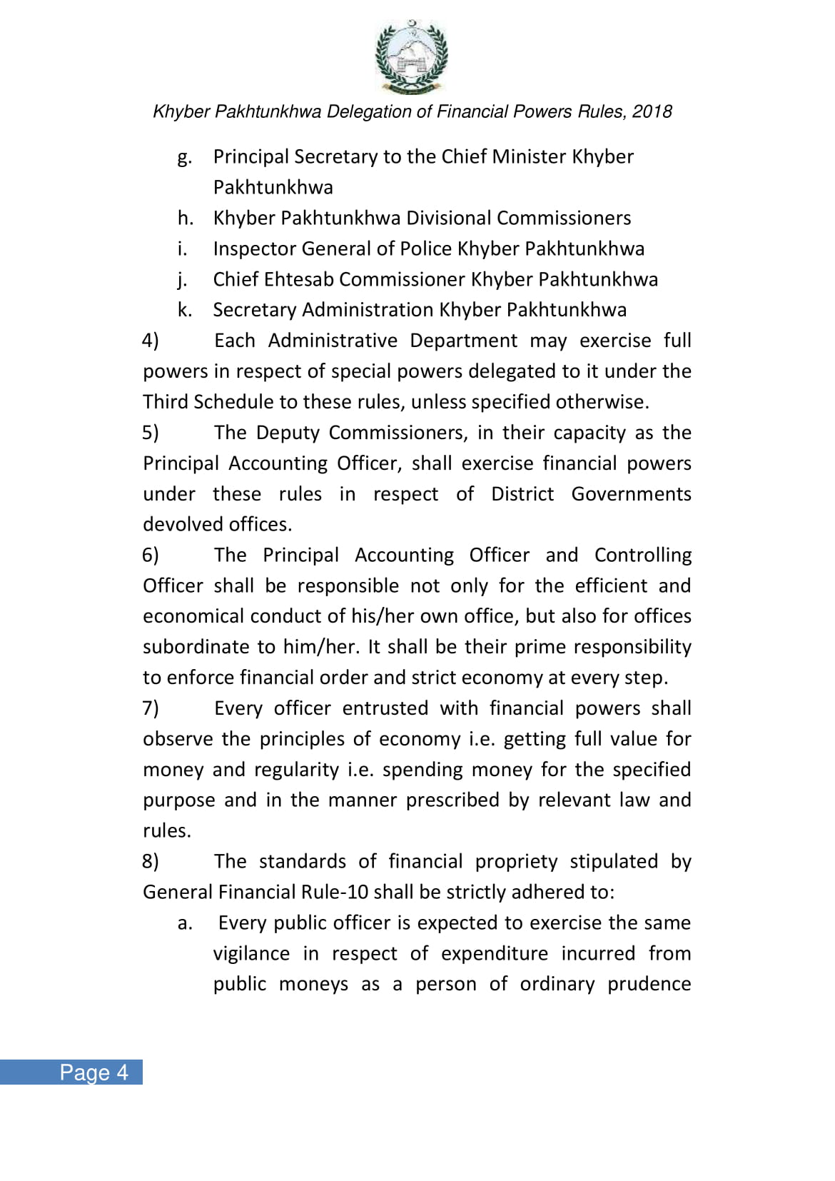 kp-delegation-of-financial-power-rules-2018-09